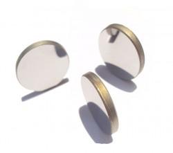 Lazer Metal Ayna Çap: 25mm Molibden - Thumbnail