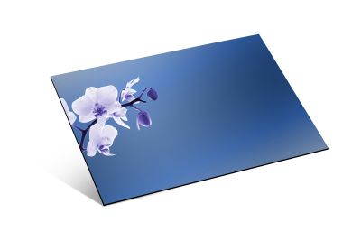 - 1,8mm Mavi Ayna Pleksi - 81 X 61 cm