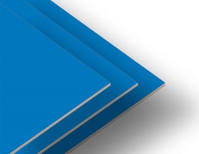 - Mavi Tek Yüz 2.7mm Mdf 105x85 cm (4 Parça)