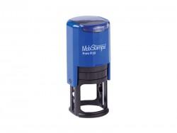 Mobi Stamps Otomatik Kaşe R-30 Mavi Renk - Thumbnail