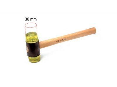 - Plastik Vidalı Tokmak 30mm
