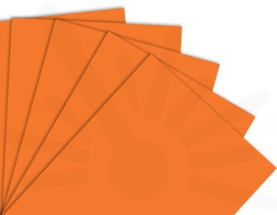 - Portakal Tek Yüz Mdf 2.7 mm 30x40 Cm ( 1 Parça )