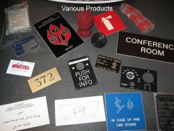 Rezopal Abs Lazer kazıma plakası Satine Gümüş-Siyah Fırcalı Mat 0.8mm - Thumbnail