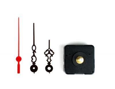 - Saat Mekanizması - Plastik Desenli Siyah Akrep Yelkovan (10 Adet)