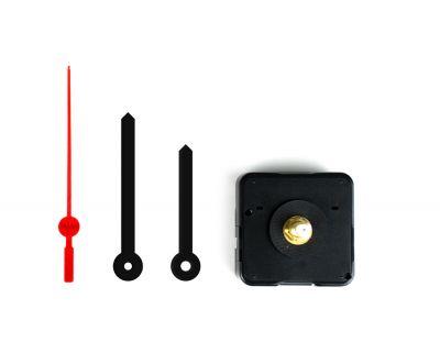 - Saat Mekanizması - Plastik Siyah Akrep Yelkovan (10 Adet)