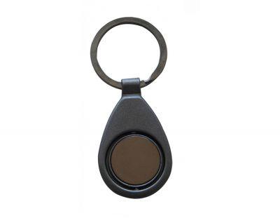 - Kahverengi Metal Anahtarlık
