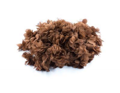 - Şifon Çiçek Kahverengi 120 Adet
