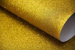 - Simli Fon Kartonu 50x70 cm Altın 10Lu Paket