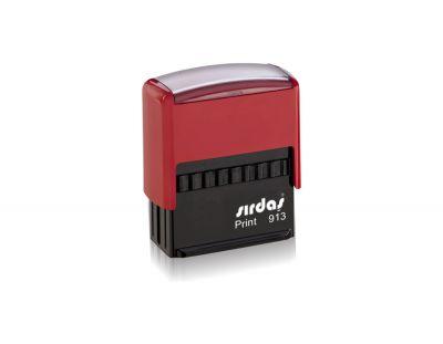 Sırdaş - Otomatik Kaşe 913 Kırmızı Renk