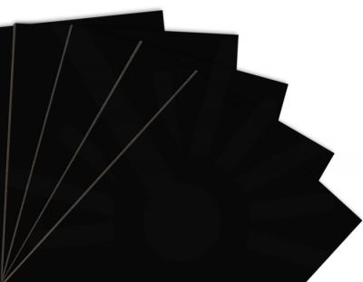 - Siyah Tek Yüz Mdf 2.7 mm 60x40cm ( 5 Parça )