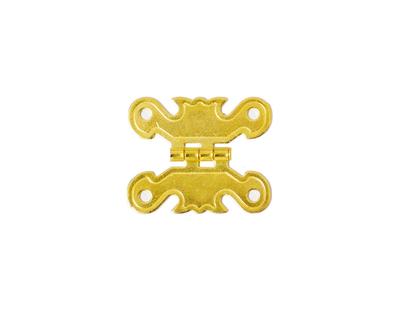 - Süslü Küçük Kelebek Metal Menteşe Altın