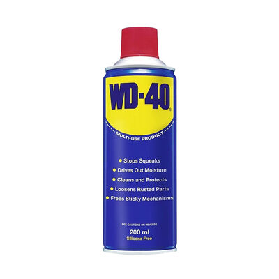 - WD-40 | Çok Amaçlı Etkili Koruyucu ve Pas Sökücü 200 ML