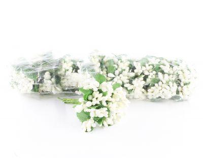 - Yapay Çiçek İri Damla Cipso Kırık Beyaz 12'li Paket