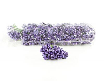 - Yapay Çiçek İri Damla Cipso Lila 12'li Paket