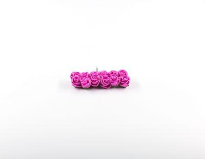 - Yapay Çiçek Latex Gül Pembe 120 adet