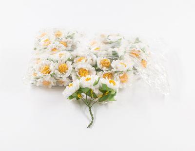 - Yapay Çiçek Papatya Beyaz 72'li Paket