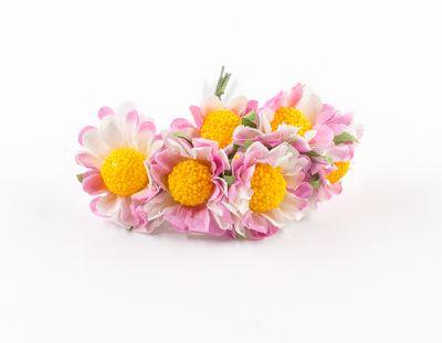 - Yapay Çiçek Papatya Pembe 72'li Paket